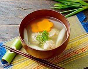 真誠ごまレシピ鯵のつみれ汁