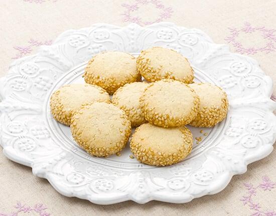 真誠ごまレシピ ごまクッキー