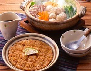 真誠ごまレシピ鶏ごま団子鍋