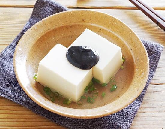 湯豆腐のタレに!ねりごまポン酢