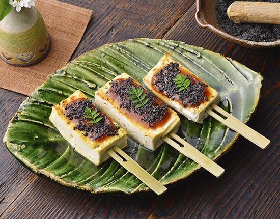 ごま味噌の豆腐田楽