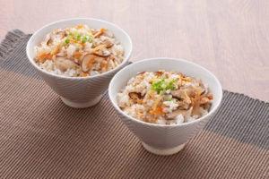 真誠ごまレシピ中華風混ぜご飯