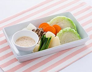 蒸し野菜のクリーミーゆずディップ
