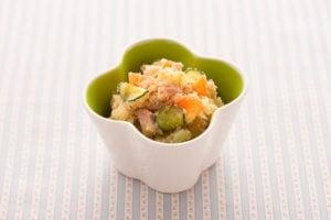 真誠ごまレシピ和風ポテトサラダ